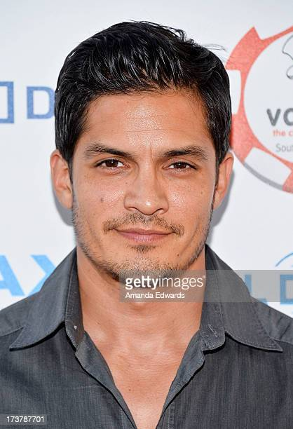 Actor Nicholas Gonzalez arrives at The Children's Charity Of Southern California Texas Hold 'Em Poker Tournament hosted by Variety at Paramount...