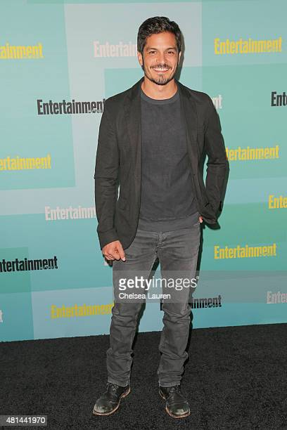 Actor Nicholas Gonzalez arrives at the Entertainment Weekly celebration at Float at Hard Rock Hotel San Diego on July 11 2015 in San Diego California