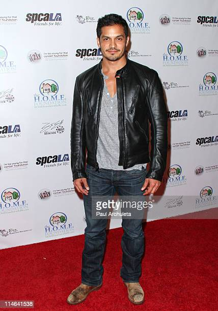 Actor Nicholas Gonzalez arrives at The HOME Foundation's celebrity Casino Royale fundraiser at Avalon on May 24 2011 in Hollywood California