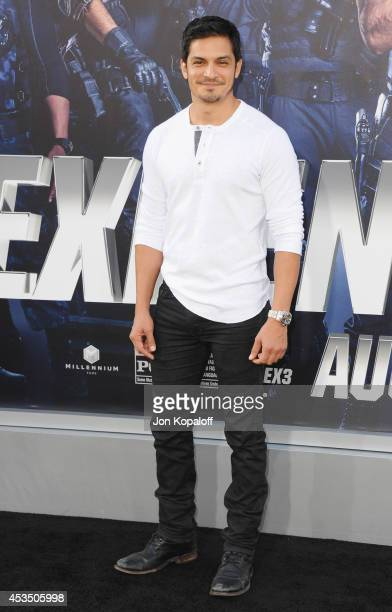 Actor Nicholas Gonzalez arrives at the Los Angeles Premiere 'The Expendables 3' at TCL Chinese Theatre on August 11 2014 in Hollywood California