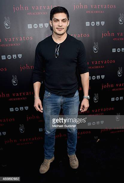 Actor Nicholas Gonzalez attends John Varvatos' International Day of Peace Celebration with a special performance by Ringo Starr His All Starr Band at...