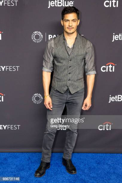 Actor Nicholas Gonzalez attends the 2018 PaleyFest Los Angeles ABC's 'The Good Doctor' at Dolby Theatre on March 22 2018 in Hollywood California