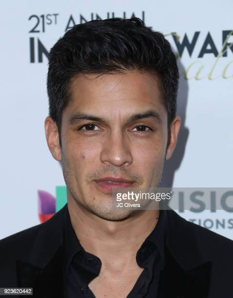 Actor Nicholas Gonzalez attends the 21st Annual National Hispanic Media Coalition Impact Awards Gala at Regent Beverly Wilshire Hotel on February 23...
