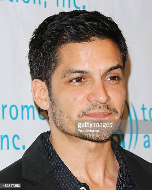 Actor Nicholas Gonzalez attends the 2nd annual Hollywood Heals spotlight on Tourette Syndrome at House of Blues Sunset Strip on March 5 2015 in West...