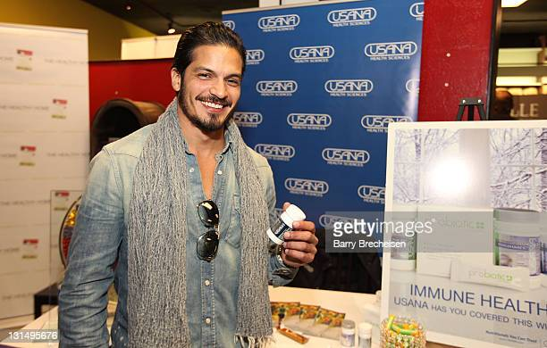 Actor Nicholas Gonzalez attends the Kari Feinstein Style Lounge on January 22 2011 in Park City Utah