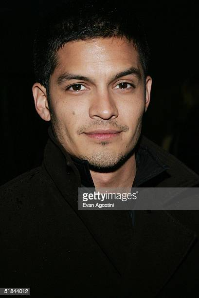 "Actor Nicholas Gonzalez attends ""The Life Aquatic With Steve Zissou"" premiere after party at Roseland Ballroom December 9, 2004 in New York City."