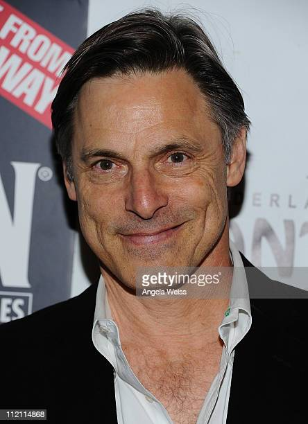 Actor Nicholas Guest arrives at the opening night of 'Rain A Tribute To The Beatles' at the Pantages Theatre on April 12 2011 in Hollywood California