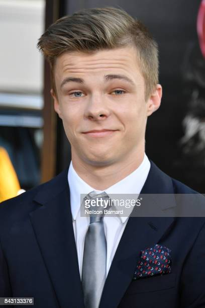 Actor Nicholas Hamilton attends the premiere of Warner Bros Pictures and New Line Cinema's 'It' at the TCL Chinese Theatre on September 5 2017 in...