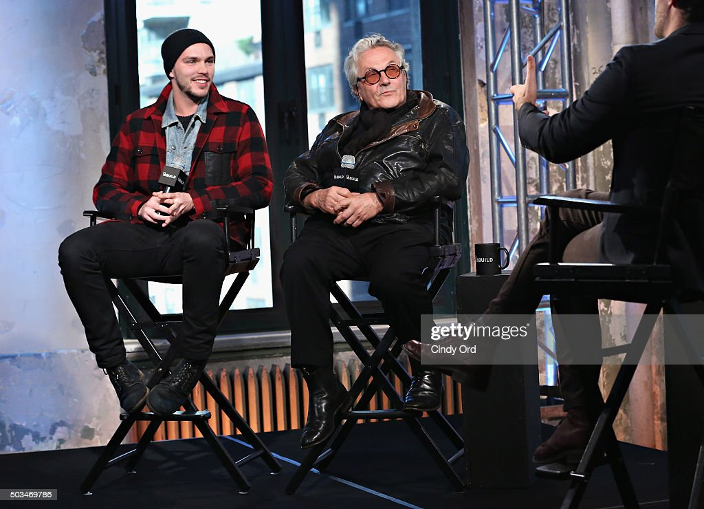 """AOL BUILD Series: George Miller, """"Mad Max: Fury Road"""" : News Photo"""