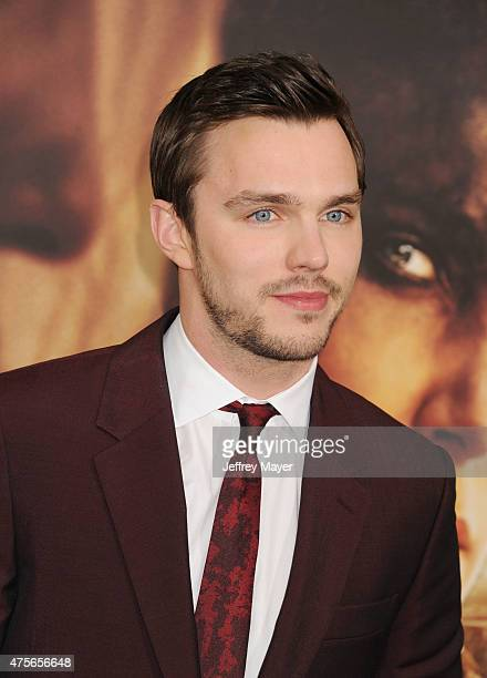 Actor Nicholas Hoult arrives at the Mad Max Fury Road Los Angeles Premiere at TCL Chinese Theatre IMAX on May 7 2015 in Hollywood California