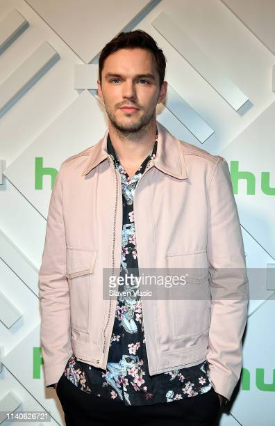 Actor Nicholas Hoult attends 2019 Hulu Upfront at Scarpetta on May 1 2019 in New York City