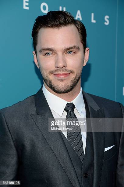 Actor Nicholas Hoult attends the Los Angeles Premiere of EQUALS at Arclight Hollywood on July 7 2016 in Hollywood California