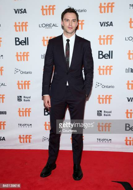 Actor Nicholas Hoult attends the premiere of The Current War during the 2017 Toronto International Film Festival at Princess of Wales Theatre on...