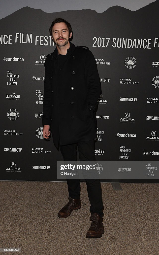 Actor Nicholas Hoult attends the 'Rebel In The Rye' Premiere on day 6 of the 2017 Sundance Film Festival at Eccles Center Theatre on January 24, 2017 in Park City, Utah.