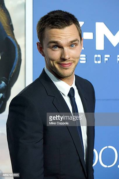 Actor Nicholas Hoult attends the 'XMen Days Of Future Past' world premiere at Jacob Javits Center on May 10 2014 in New York City