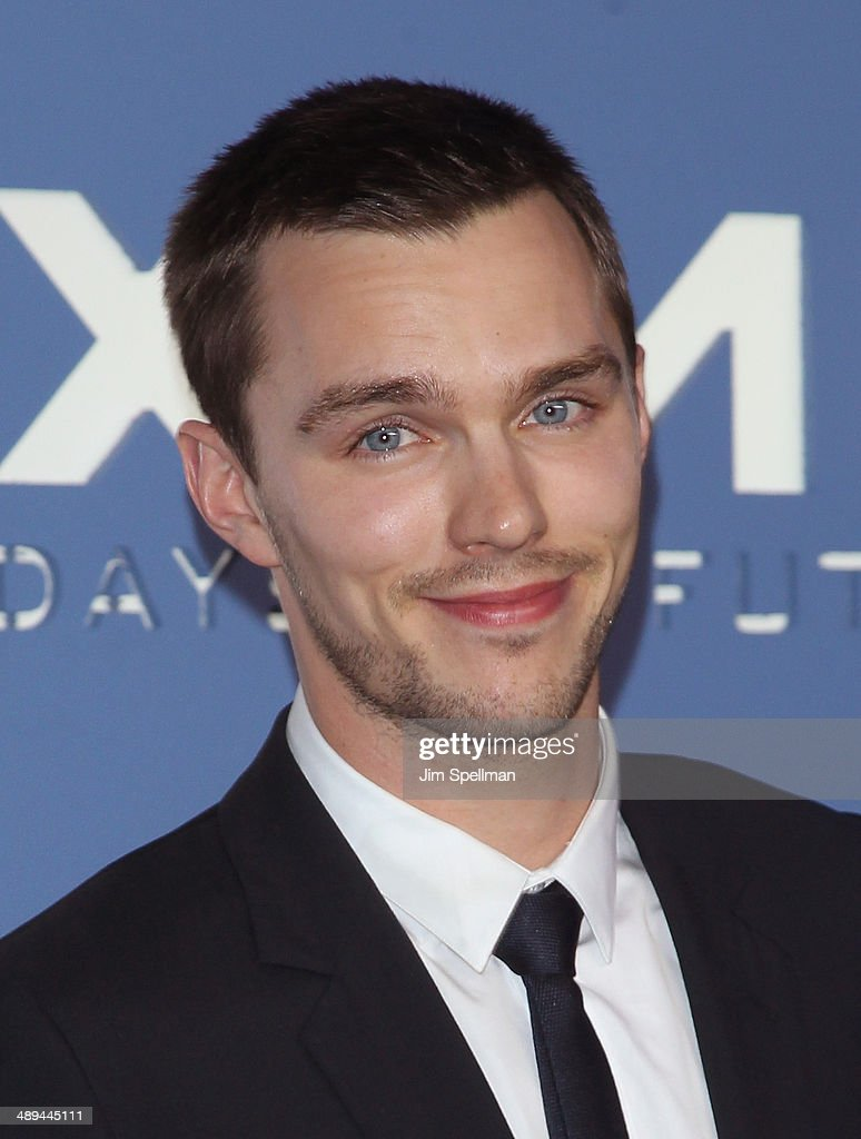 Actor Nicholas Hoult attends the 'X-Men: Days Of Future Past' World Premiere - Outside Arrivals at Jacob Javits Center on May 10, 2014 in New York City.
