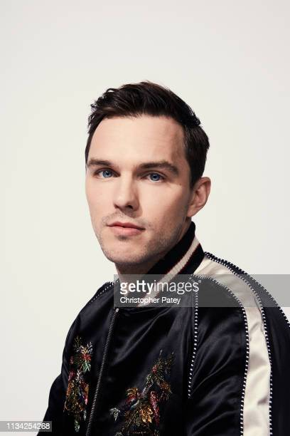 Actor Nicholas Hoult from 'Dark Phoenix' poses for a portrait at Anaheim Convention Center on March 28 2019 at WonderCon Anaheim in Anaheim California