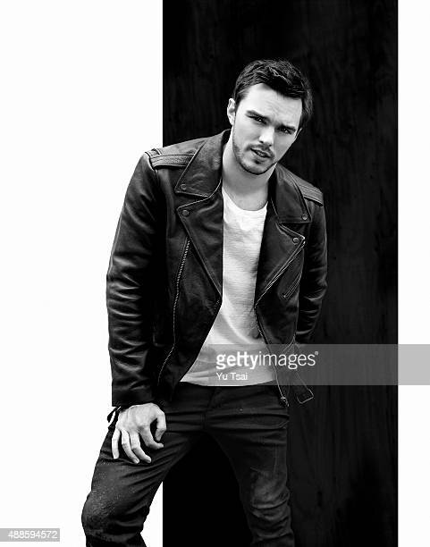Actor Nicholas Hoult is photographed for Flaunt Magazine on May 6 2015 in Los Angeles California Published Image