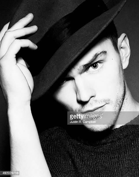 Actor Nicholas Hoult is photographed for Justine Magazine on January 4 2013 in Los Angeles California