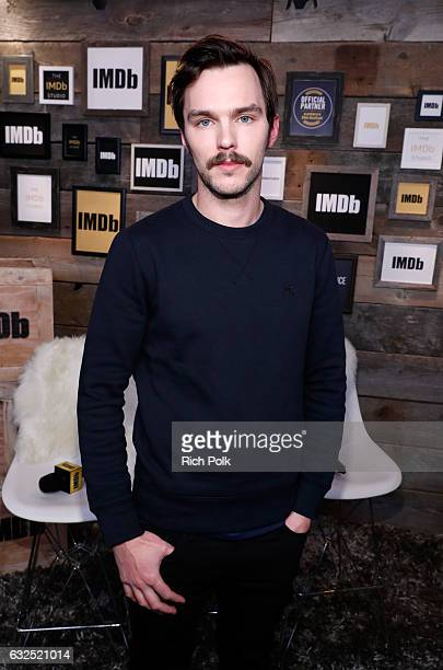 Actor Nicholas Hoult of 'Rebel in the Rye' attends The IMDb Studio featuring the Filmmaker Discovery Lounge presented by Amazon Video Direct Day Four...