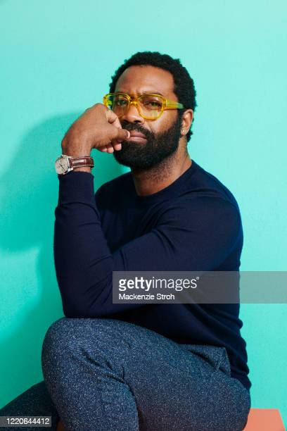 Actor Nicholas Pinnock is photographed for Entertainment Weekly Magazine on February 27, 2020 at Savannah College of Art and Design in Savannah,...