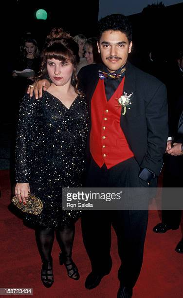 Actor Nicholas Turturro and wife attending First Annual Screen Actor's Guild of America Awards on February 25 1995 at Universal Studios in Universal...