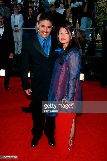 Actor Nicholas Turturro and wife Lissa Espinosa attending Fifth Annual Screen Actors Guild Awards on March 7 1999 at the Shrine Audtorium in Los...