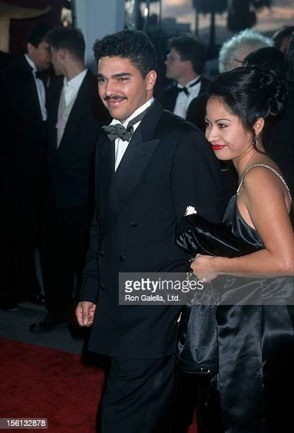 Actor Nicholas Turturro and wife Lissa Espinosa attending Second Annual Screen Actor's Guild Awards on February 24 1996 at the Santa Monica Civic...