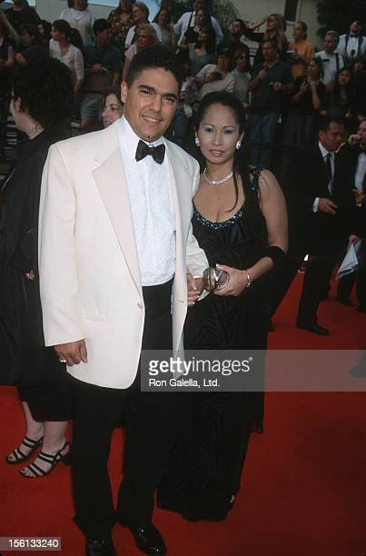 Actor Nicholas Turturro and wife Lissa Espinosa attending Sixth Annual Screen Actors Guild of America Awards on March 12 2000 at the Shrine...