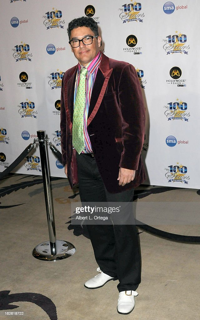 Actor Nicholas Turturro arrives for the 23rd Annual Night Of 100 Stars Black Tie Dinner Viewing Gala held at Beverly Hills Hotel on February 24, 2013 in Beverly Hills, California.