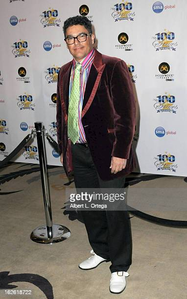 Actor Nicholas Turturro arrives for the 23rd Annual Night Of 100 Stars Black Tie Dinner Viewing Gala held at Beverly Hills Hotel on February 24 2013...