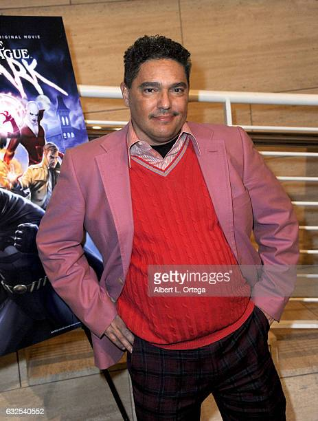 Actor Nicholas Turturro arrives for the Premiere Of Warner Home Movies' 'Justice League Dark' held at The Paley Center for Media on January 23 2017...
