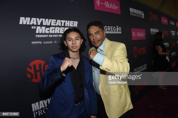 Actor Nicholas Turturro arrives on TMobile's magenta carpet duirng the Showtime WME IME and Mayweather Promotions VIP PreFight Party for Mayweather...