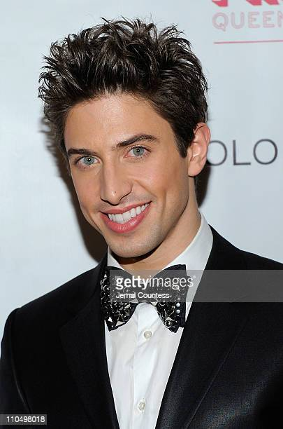 Actor Nick Adams attends the after party for the Broadway opening night of Priscilla Queen of the Desert The Musical at Pier 60 on March 20 2011 in...