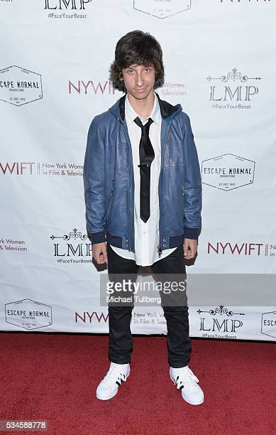 Actor Nick Alvarez attends a screening of the film Little Miss Perfect at TCL Chinese Theatre on May 26 2016 in Hollywood California