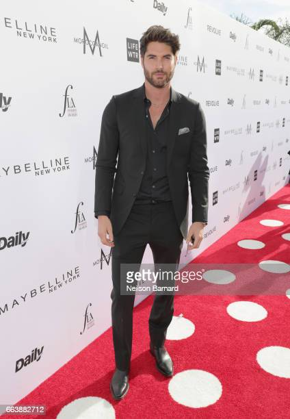 Actor Nick Bateman attends the Daily Front Row's 3rd Annual Fashion Los Angeles Awards at Sunset Tower Hotel on April 2 2017 in West Hollywood...