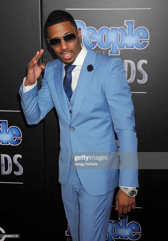 Actor Nick Cannon arrives at The PEOPLE Magazine Awards at The Beverly Hilton Hotel on December 18, 2014 in Beverly Hills, California.