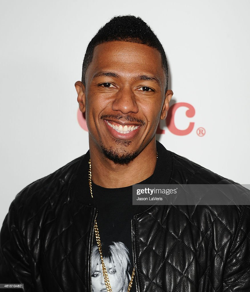 Actor Nick Cannon attends Meghan Trainor's record release party for her debut album 'Title' at Warwick on January 13, 2015 in Hollywood, California.