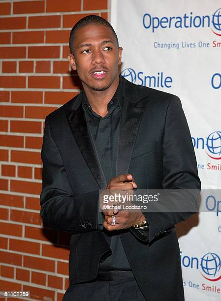 """Actor Nick Cannon attends Operation Smile's 5th Annual """"Smile"""" Gala at Skkylight Studio in New York City on May 15, 2008"""