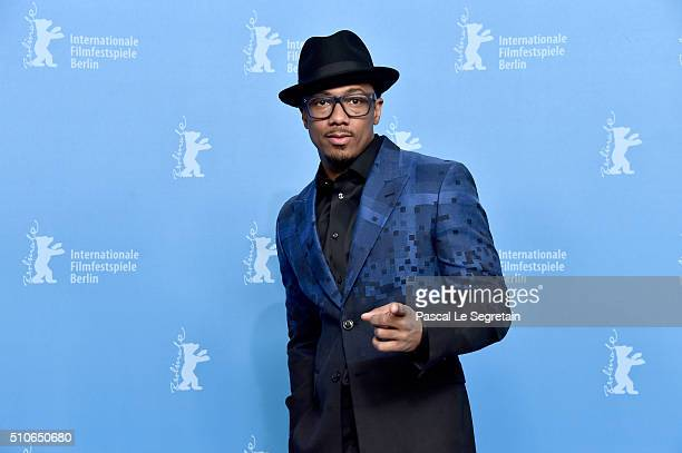 Actor Nick Cannon attends the 'ChiRaq' photo call during the 66th Berlinale International Film Festival Berlin at Grand Hyatt Hotel on February 16...