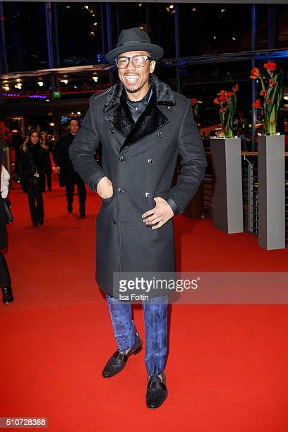 Actor Nick Cannon attends the 'ChiRaq' Premiere during the 66th Berlinale International Film Festival on February 16 2016 in Berlin Germany