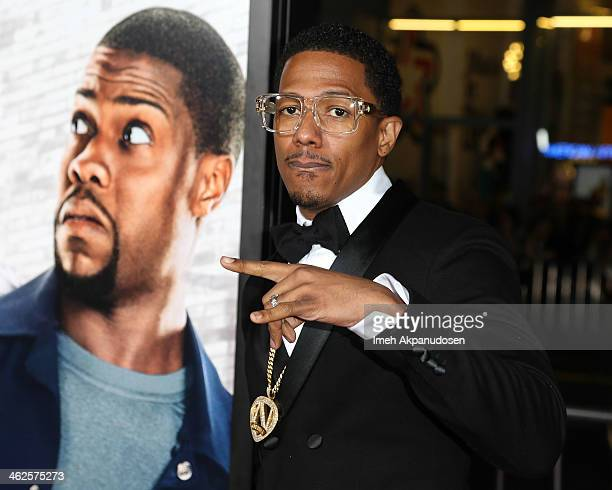Actor Nick Cannon attends the premiere of Universal Pictures' 'Ride Along' at TCL Chinese Theatre on January 13 2014 in Hollywood California