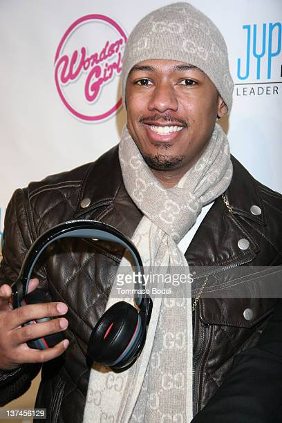 Actor Nick Cannon attends 'The Wonder Girls' Los Angeles premiere held at the CGV Cinemas on January 20 2012 in Los Angeles California