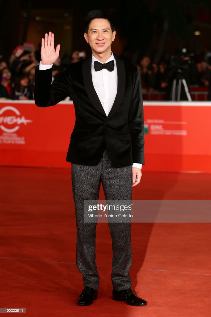Actor Nick Cheung attends the 'Sou Duk' (The White Storm) Premiere during The 8th Rome Film Festival at Auditorium Parco Della Musica on November 17, 2013 in Rome, Italy.