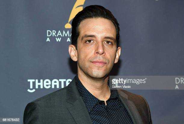 Actor Nick Cordero attends 2017 Drama Desk Nominees reception at Marriott Marquis Times Square on May 10 2017 in New York City