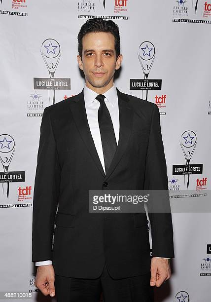 Actor Nick Cordero attends the 29th Annual Lucille Lortel Awards at NYU Skirball Center on May 4 2014 in New York City