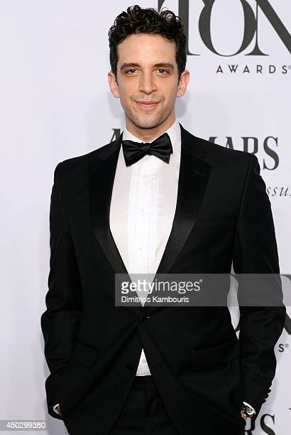 Actor Nick Cordero attends the 68th Annual Tony Awards at Radio City Music Hall on June 8 2014 in New York City