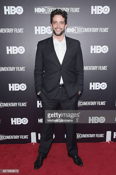 Actor Nick Cordero attends the HBO Documentary screening Of Mr Dynamite The Rise Of James Brown at Time Warner Screening Room on October 20 2014 in...