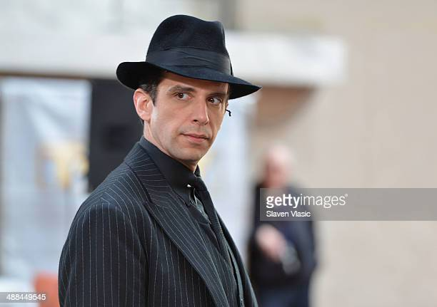 Actor Nick Cordero of Bullets Over Broadway performs live on NBC's Today at TODAY Plaza on May 6 2014 in New York City