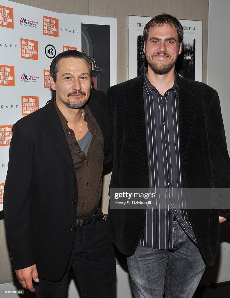 Actor Nick Damici and director Jim Mickle attend the 'Stake Land' premiere at The Film Society of Lincoln Center on October 27, 2010 in New York City.